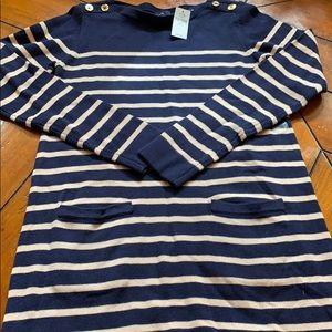 GAP Kids Girls Striped Sweater Dress